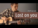 Lost on you LP fingerstyle cover GoFingerstyle