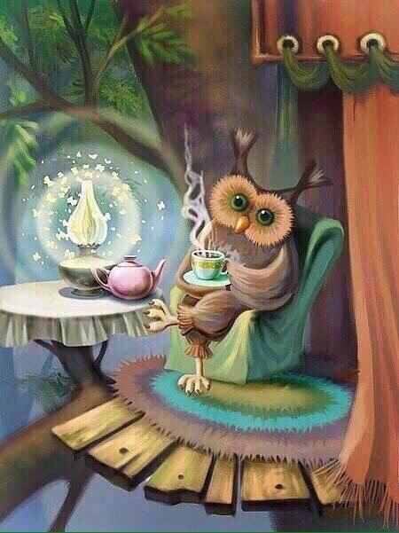 только доброе утро картинки в стиле сказочном вид подарков