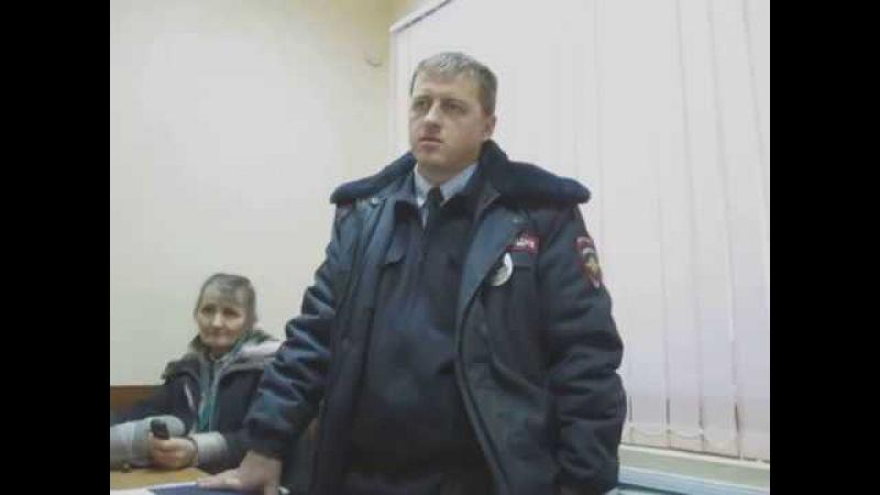 Правовой ликбез о СССР и РФ в здании МВД - Новосибирск, 16.11.2015