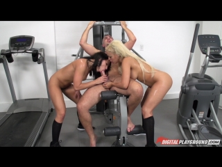 Adriana Chechik, Keiran Lee & Luna Star - The Wettest Workout