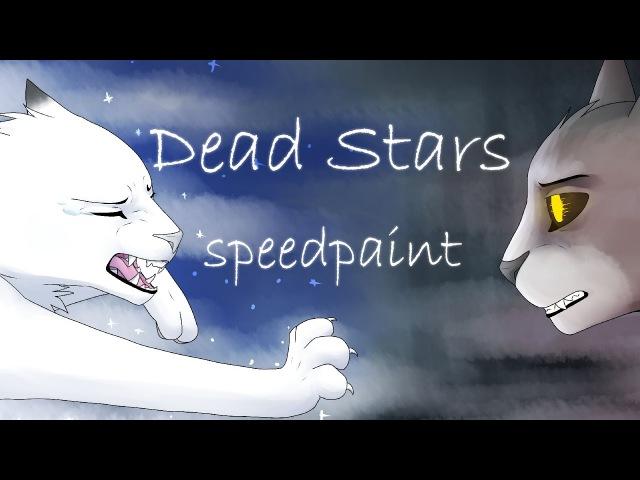 Dead stars [Snowfur and Thistleclaw speedpaint]