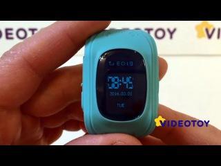 Видеообзор умных детских часов Q50 с GPS датчиком