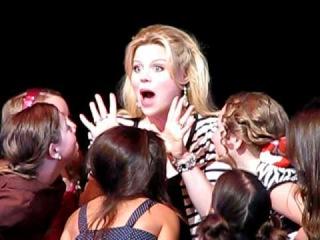 "Megan Hilty singing ""Popular"" @ Broadway Dreams Foundation"