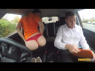 Секс в машине FakeDrivingSchool 170418 Stella Cox