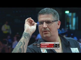 Phil Taylor vs Gary Anderson (Dubai Duty Free Darts Masters 2017 / Quarter Final)