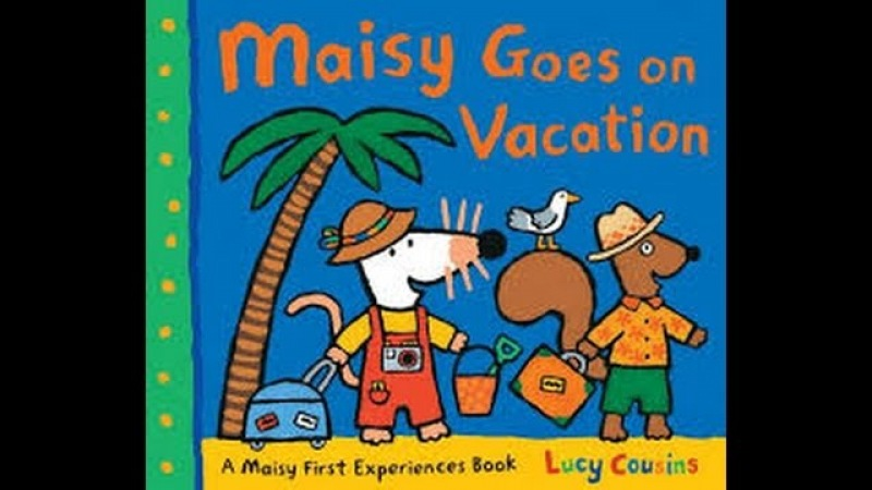 Maisy Goes On Vacation by Lucy Cousins Read by SUPER BooKBoY