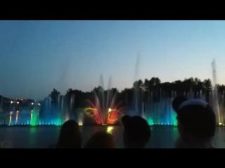 последние секунды работы Винницких фонтанов