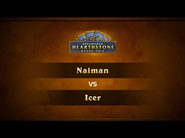 Naiman vs Icer 1 4 DreamHack Atlanta 2017