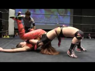 Kana(WWE's Asuka) & Arisa Nakajima vs Syuri & Hikaru Shida