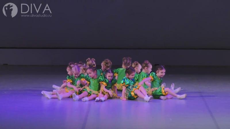Детские танцы группа 4 5 лет Веселые горохи хореограф Ольга Завиялова