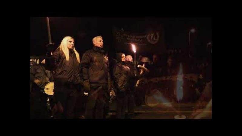 2017-11-18 - Motståndsrörelsen - Der Dritte Weg - Marsch in Wunsiedel