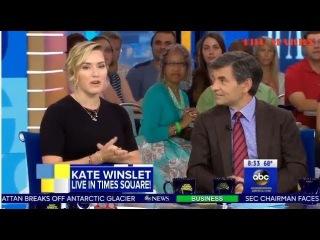 Good Morning America SEPT 26th, 2017: Kate Winslet, Harrison Ford,Stephen and Owen King