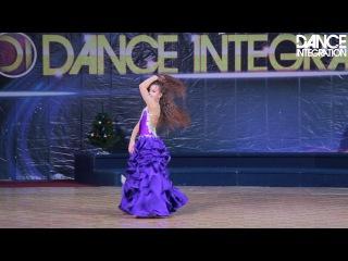 Dance Integration 2017 - Табла Belly Dance, дети, соло, продолжающие