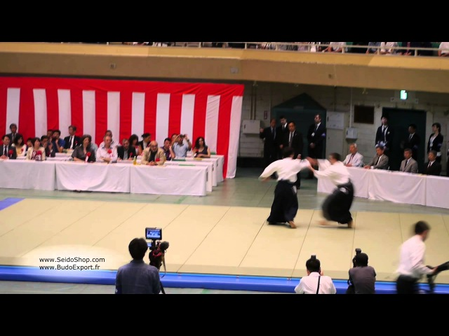 Kobayashi Yukimitsu Shihan, 7th Dan - 53rd All Japan Aikido Demonstration