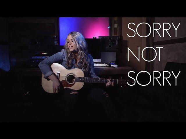 Sorry Not Sorry - Demi Lovato - Cover by Riley Biederer