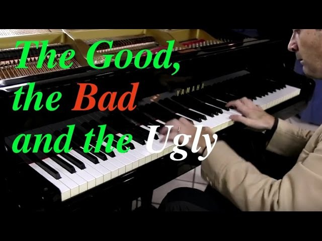 Fabrizio Spaggiari The Good the Bad and the Ugly by Ennio Morricone Piano Cover