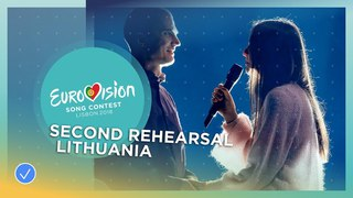 Ieva Zasimauskait - When We're Old - Exclusive Rehearsal Clip - Lithuania - Eurovision 2018