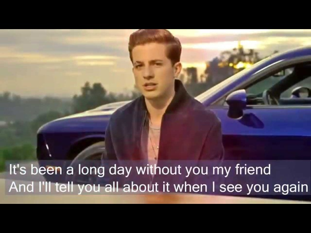 See you again by Charlie Puth Lyrics Full Version No Rap