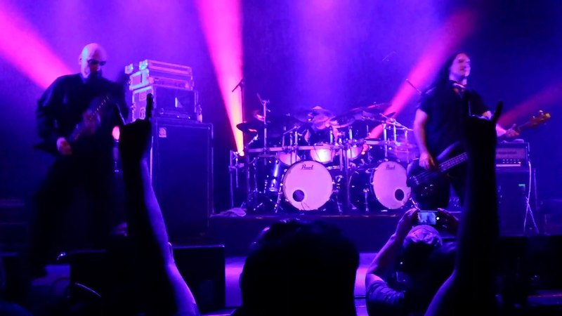 Immolation Thrown To The Fire live at Patronaat Haarlem The Netherlands 07 04 2018