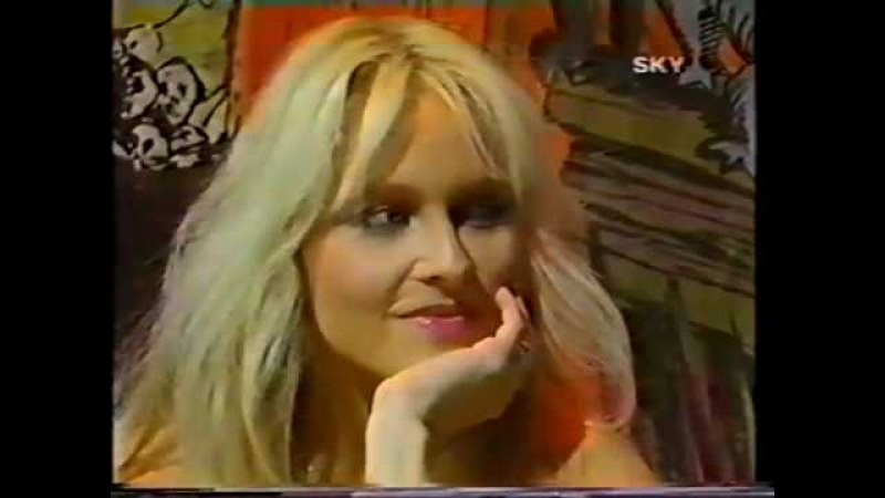 Warlock Doro Interview Sky Trax 1986