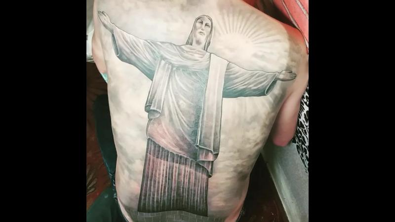 Процесс тату татуспб татупитер татусанктпетербург victorfedorowtattoo tattoo tattooer tattoospb tattoomaster питерта