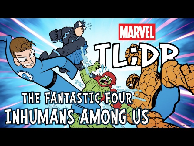 The Inhumans Among Us in 3 Minutes Marvel TL DR