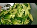 Салат из огурцов Пальчики по-корейски на зиму готовить просто