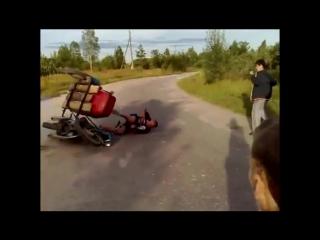 Мото приколы.Советские мотоциклы (иж урал ява минск восход) рулят!Совки неубивае