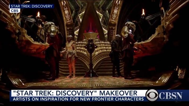 Звездный путь Дискавери Star Trek Discovery грим клингонов