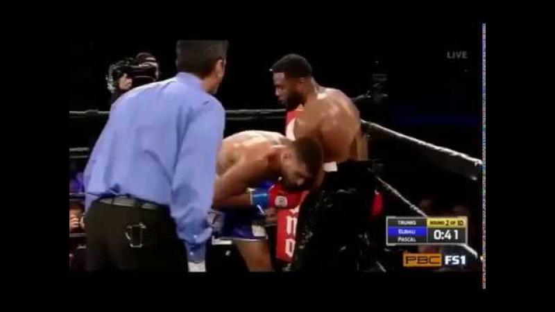 Ahmed Elbiali vs Jean Pascal FULL FIGHT KNOCKOUT
