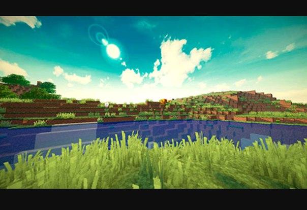 красивое небо на майнкрафт 1.7.2 #5