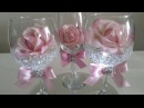 DIY | LIGHT UP WINE GLASS CENTERPIECE | INEXPENSIVE DIY | BLING AND GLAM DECOR