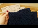 Вязание шарф снуд хомут спицами Ажурная вязка