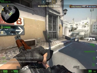 Прострел из Counter-Strike 1.6