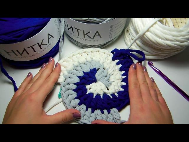 Бонусное видео: вяжем спираль из трех и четырех цветов