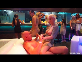 Hardcore orgy party in the nightclub [ full ]