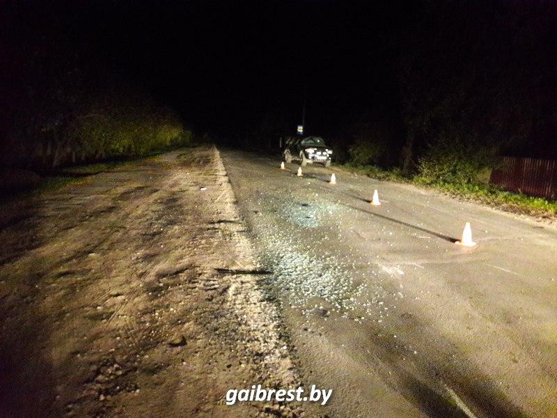 Брест: в результате опрокидывания автомобиля пострадала пассажир