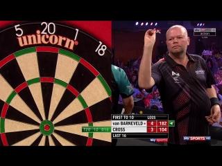 Raymond van Barneveld vs Rob Cross (Grand Slam of Darts 2017 / Round 2)
