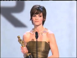Hilary Swank Wins Best Actress- 2000 Oscars