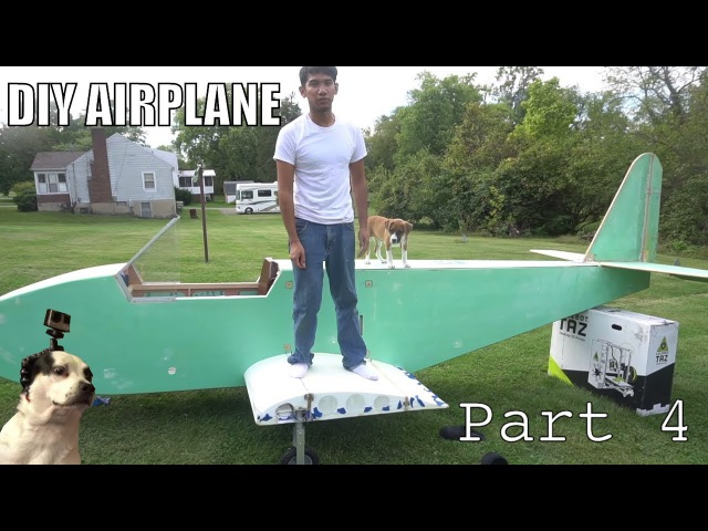 DIY Electric Ultralight pt4 fiberglassing fuselage and wing construction