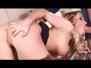 Stasia bond - deep throat at the office (blonde hair, deep throat, facial, handjob, high heels, lingerie, office, russian)