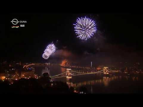 Budapest Tűzijáték 2018. Augusztus 20