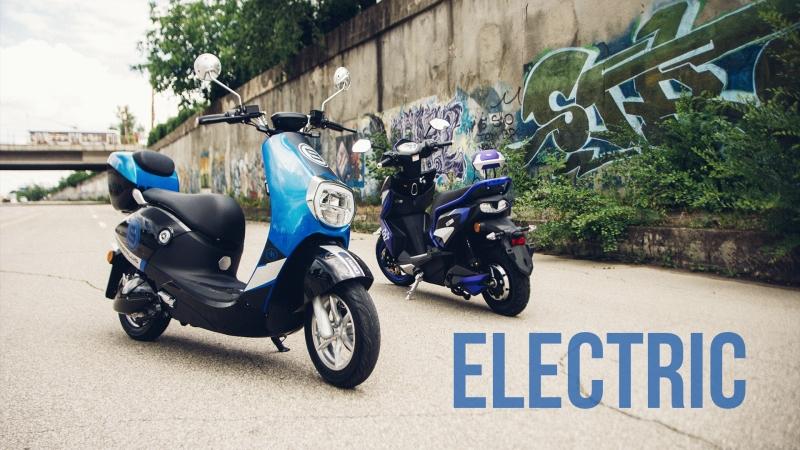 Scutere electrice AIMA Full Review în Română