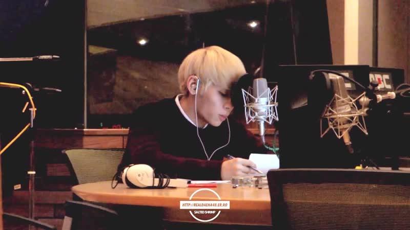 141121 SHINee Jonghyun 쫑디 음악이 머문 자리들 @ MBC 푸른밤 종현입니다 가든스튜디오