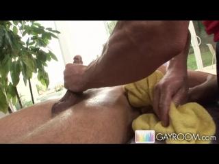 Gayroom - massage bait - strong sensual butt fucking