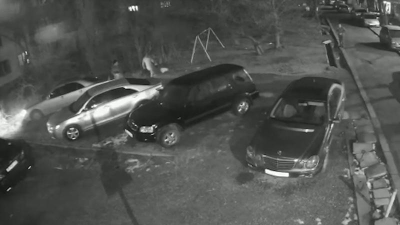 Попили и разбросали бутылки на детской площадке в Бишкеке возмутительное видео