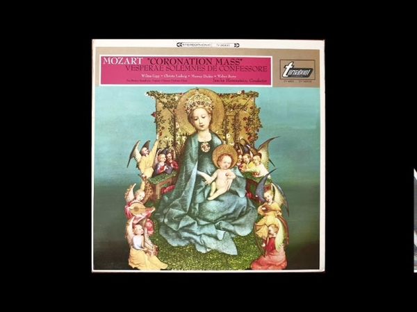 Mozart Messe du Couronnement K317 Jascha Horenstein (1966)