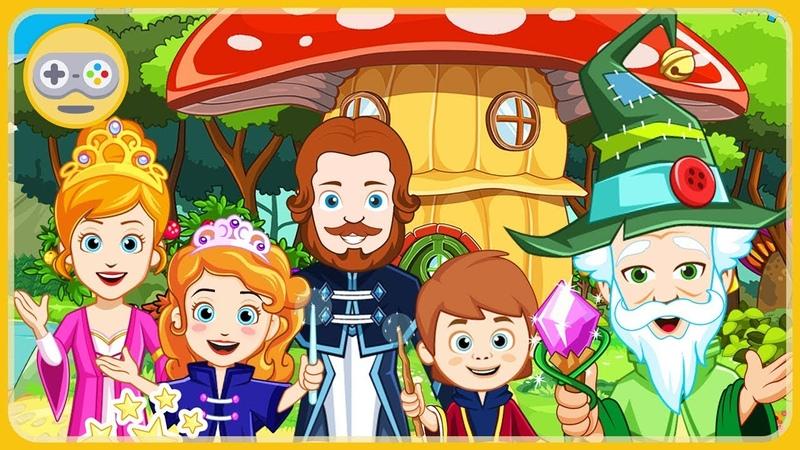 My Little Princess Волшебница Принцесса в Заколдованном королевстве * мультик игра для детей