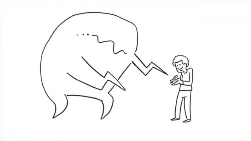 162. Как остановить сплетни (Фломастерная анимация)