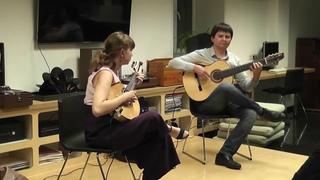 """Raiz Latina (Duo) """"Seu Sete"""" by Fábio Peron and Tiago Saul"""